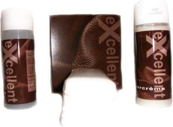 b6d7a3bef29 Ledercrème   Leer reiniging en onderhoud   2 x 150 ml   kleur 024 Black