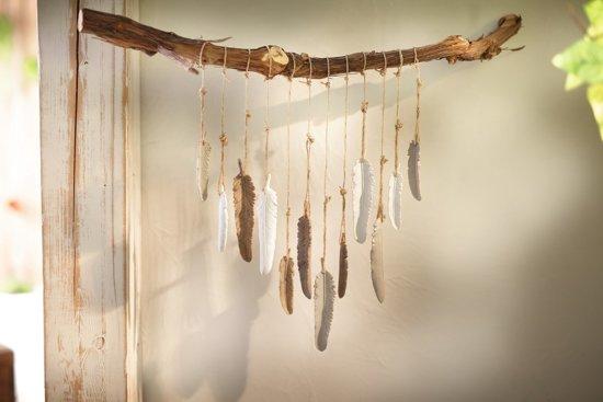 Deco Hanger Veren Set Van 12 Stuks