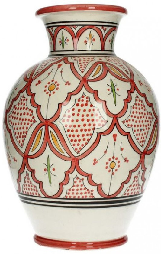 Marokkaanse vaas rood