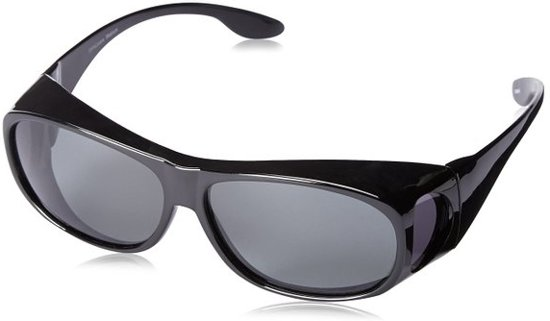ForDig - Overzet zonnebril zwart - Polariserende glazen