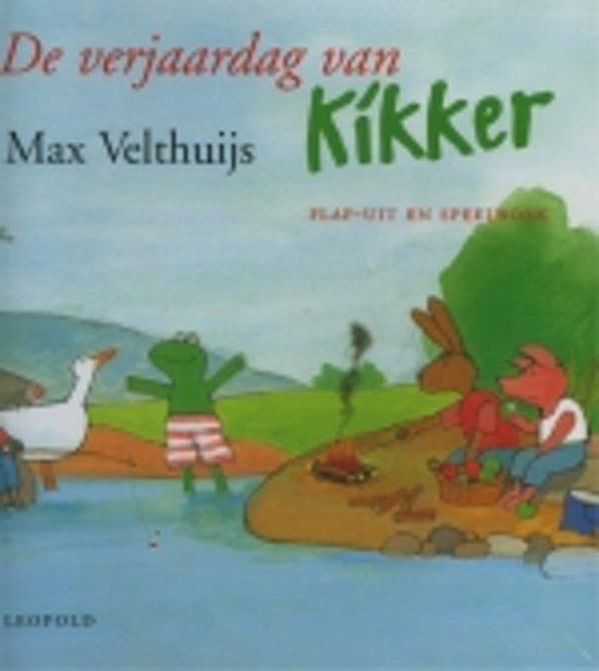 Bol Com De Verjaardag Van Kikker Max Velthuijs 9789025844110