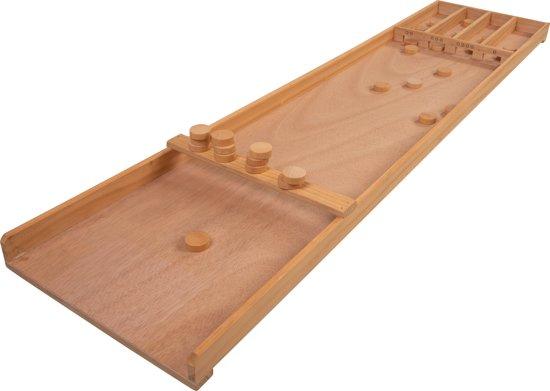 Afbeelding van Longfield Games Sjoelbak Klein - Hout speelgoed