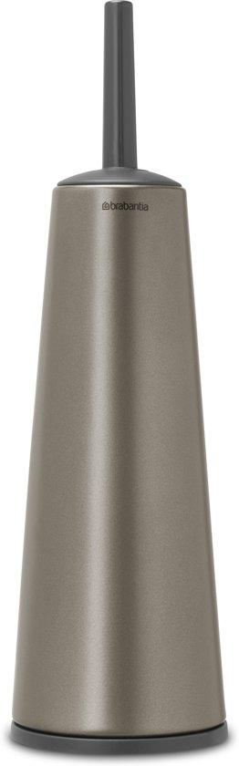 Brabantia Wc Borstel.Brabantia Toiletborstel Met Houder Platinum