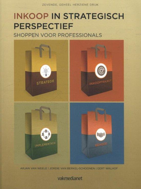 Boek cover Inkoop in strategisch perspectief van A.J. van Weele (Paperback)