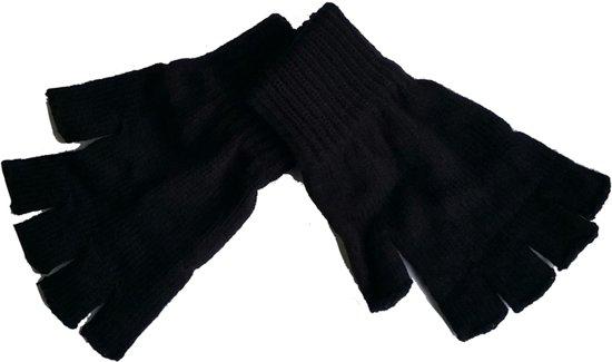 bol | handschoen - zonder vingers - zwart