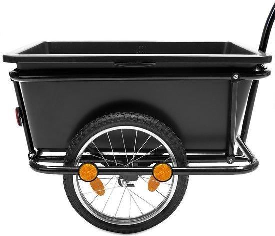 Aanhangwagen Fietsaanhanger Bagagekar fietskar 90 Liter