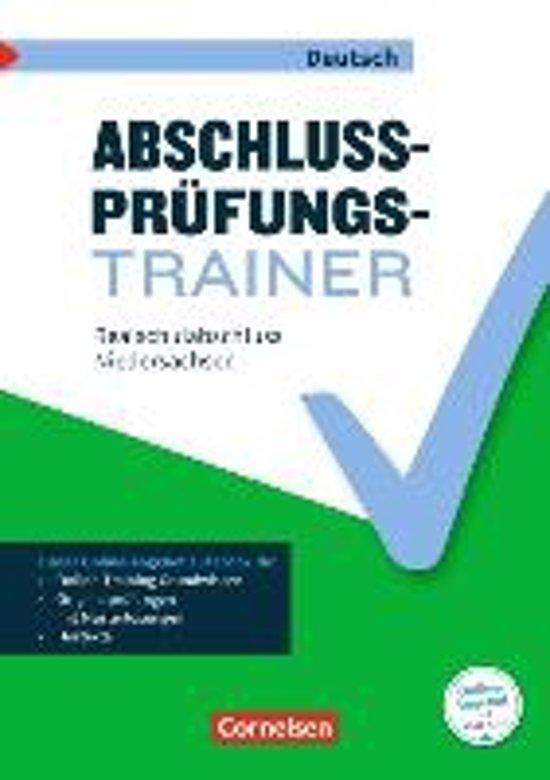Abschlussprüfungstrainer Deutsch 10. Schuljahr - Niedersachsen - Realschulabschluss