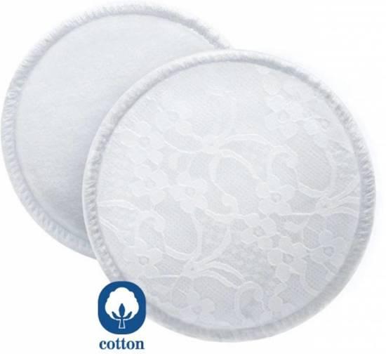 Philips Avent SCF155/06 - Wasbare katoenen borstkompressen met waszakje - 6 stuks