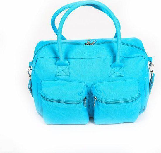 Adventure Bags - Schoudertas - Cotton - Blauw