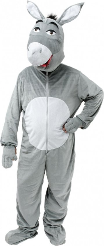 59ccc913042fb5 bol.com | Pluche ezel kostuum grijs M/l, Merkloos | Speelgoed