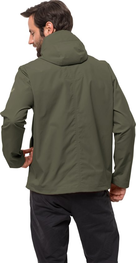Green Jas M Wolfskin Storm Woodland Jacket Heren Jack Summer q7H6wxX8