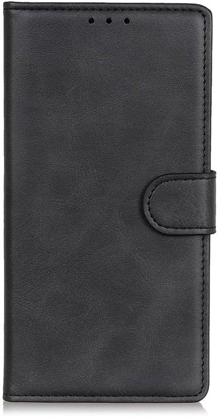 Samsung Galaxy S20 Ultra Hoesje - Luxe Book Case - Zwart