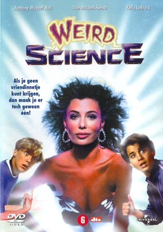 Cover van de film 'Weird Science'