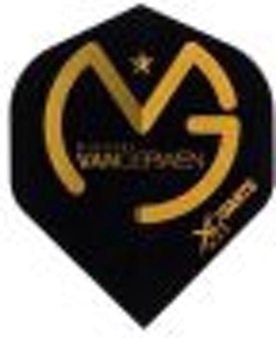 3 stuks MvG Flights Zwart Goud