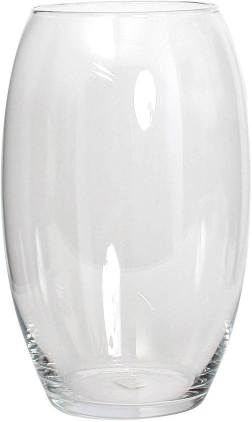 Glazen Vaas Rond Groot.Bol Com Mica Decorations Vince Vaas Transparant H35 Cm Glas