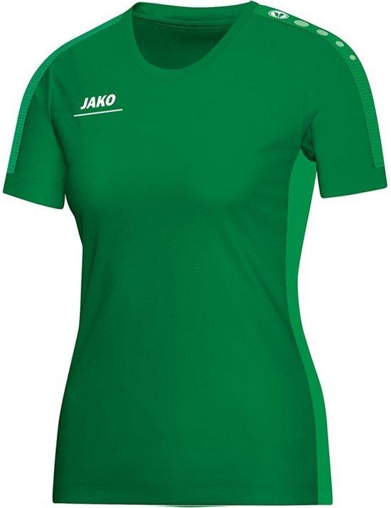 Jako Striker Indoor Shirt Dames - Shirts  - groen - 34