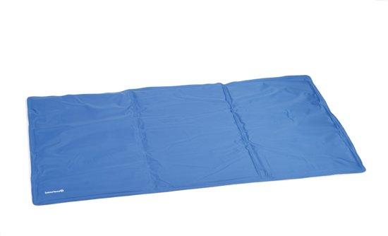 Beeztees - Quick Cooler Izi Koelmat - Blauw - 90 x 50 cm