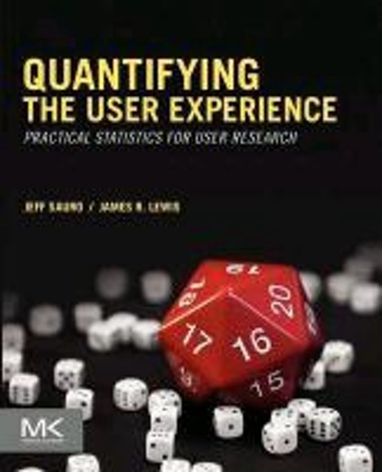 Quantifying the User Experience
