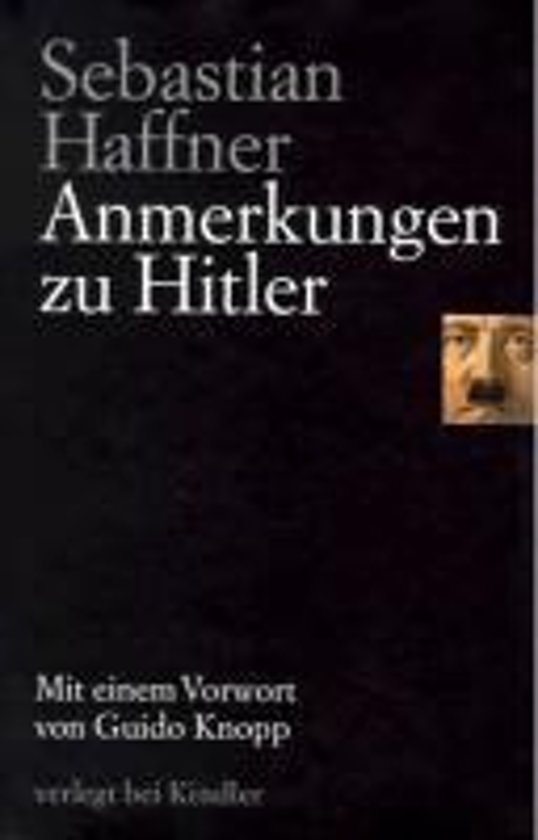 an analysis of sebastian haffners book the meaning of hitler The meaning of hitler 9780753808986 sebastian haffner orion publishing co 1999 | world of books australia.