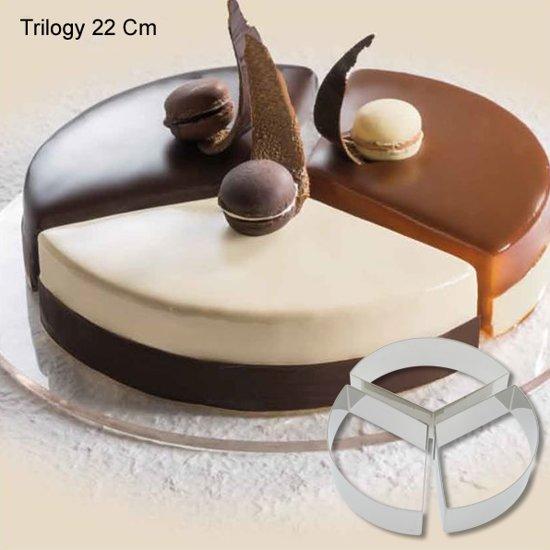 "Cake-Idea Bakringenset ""Trilogy 22cm"" Valentinaa"