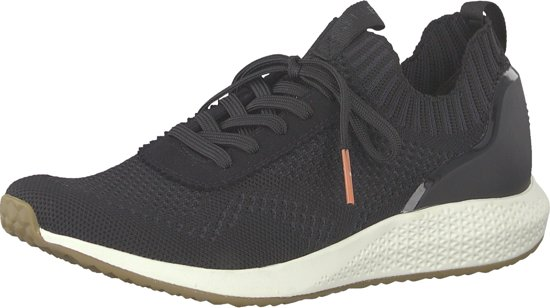 Maat 22 on 001black Tamaris1 Dames Sneakers Zwart;zwarte Slip 41 23714 QsrhCxdt