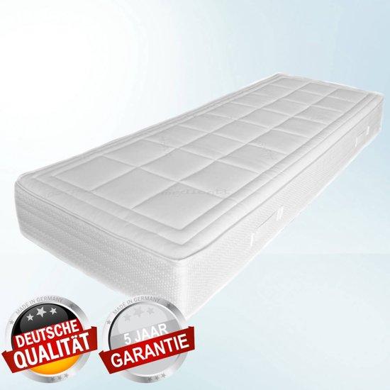 7-Zone Pocketveer Matras - NASA traagschuim - Soft 24cm - 100x210