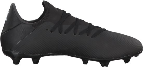 separation shoes ef16a 3b3a0 adidas X 18.3 Fg Voetbalschoenen Heren - Core BlackFtwr WhiteDgh Solid  Grey