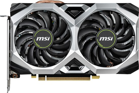 MSI Geforce 6GB D6 RTX 2060 Ventus XS 6G OC