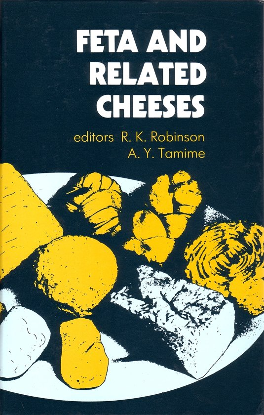 Boek cover Feta and Related Cheeses van A.Y. Tamine (Hardcover)