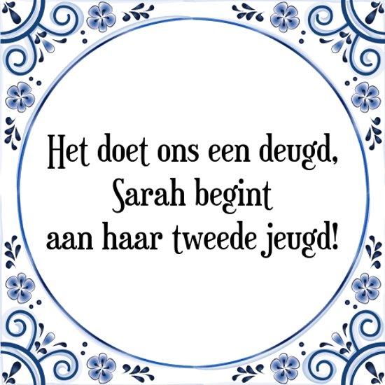 slogan sarah 50 jaar Spreuken Over Sarah 50 Jaar   ARCHIDEV slogan sarah 50 jaar