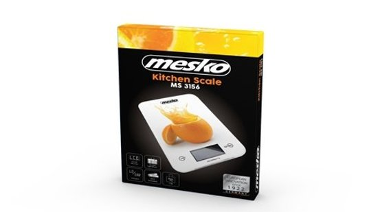 Mesko MS 3156 keukenweegschaal