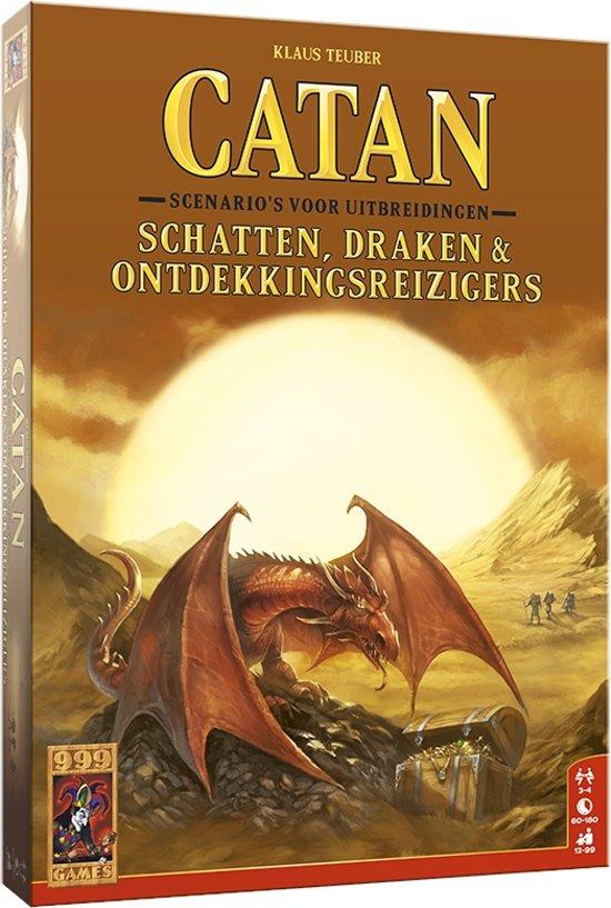 De Kolonisten van Catan Uitbreiding Schatten, Draken & Ontdekkingsreizigers - Bordspel