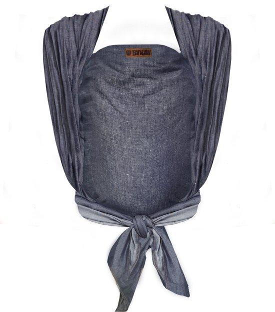 ByKay - Draagdoek -  Woven Wrap Deluxe - Dark jeans - size 6