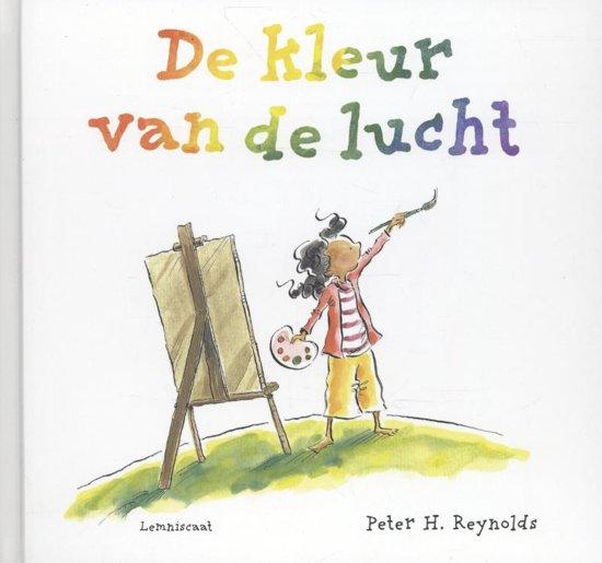 Boek cover De kleur van de lucht van Peter H. Reynolds (Hardcover)
