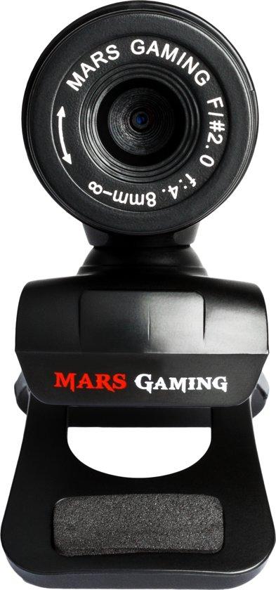 Mars Gaming MW1 5MP 2560 x 1920Pixels USB 2.0 Zwart webcam