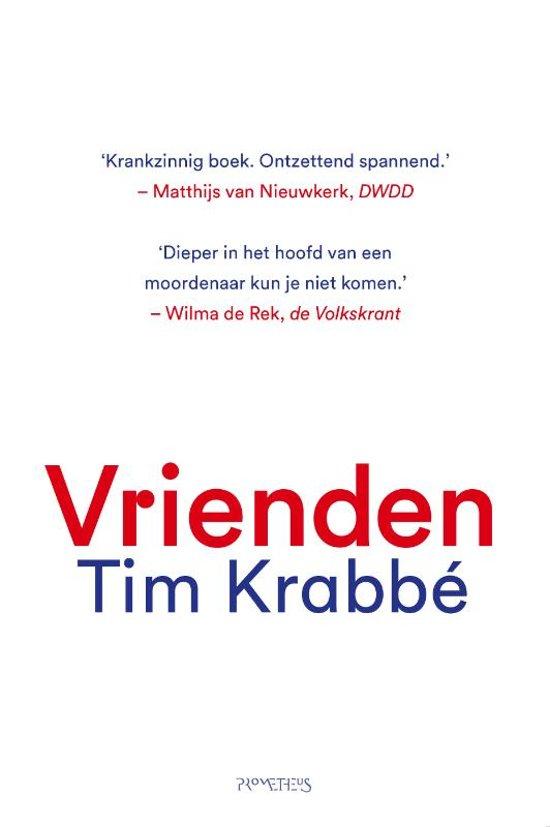 Boek cover Vrienden van Tim Krabbé (Hardcover)