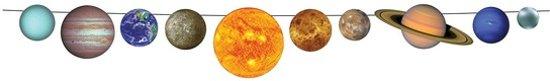 Zonnestelsel slinger planeten 2,4 m