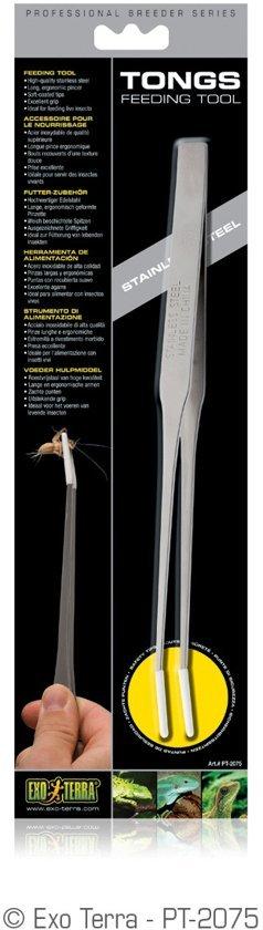 Exo Terra - RVS Voedertang - 25cm