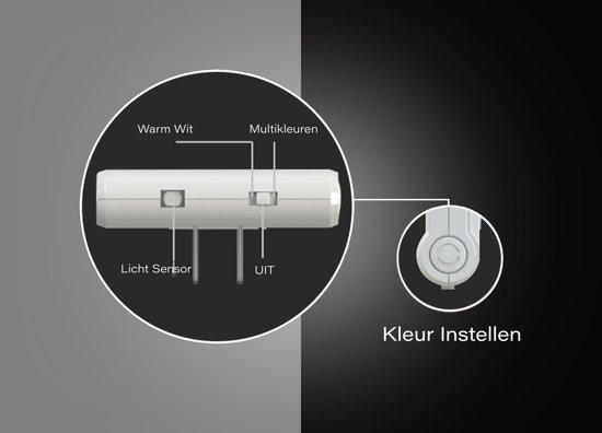 Nachtlampje Stopcontact Dag en Nacht Sensor - Lampje Voor Baby - Kind - Volwassenen & Slaapkamer - Warm Wit Led Verlichting - Verschillende Kleuren - 2 Stuks + 2x Kinder Beveiliging