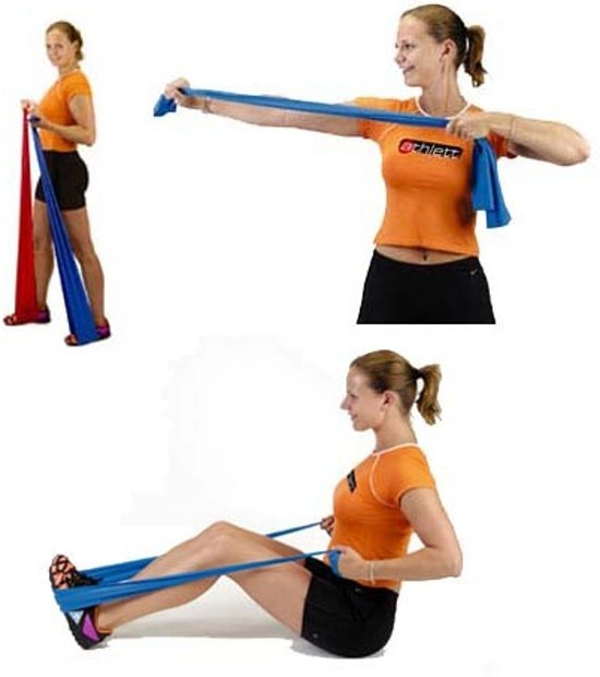 Body toning banden fitness banden