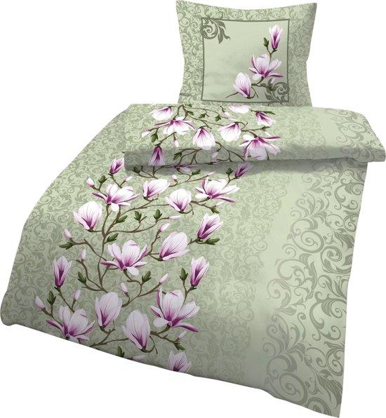 """Dekbedovertrek """"Magnolia"""", 1 pers."""