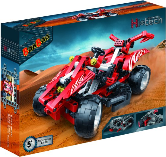 BanBao Hi-Tech Red Racer - 6955
