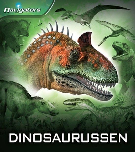 Boek cover Navigators - dinosauriers van David Burnie (Paperback)