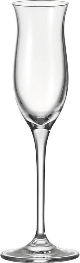 Leonardo Cheers Grappaglas - 0.1 l - 6 stuks