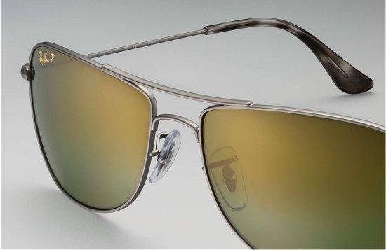 3537592b0e Ray-Ban RB3543 029 6O - Chromance - zonnebril - Staalgrijs   Groen Spiegel