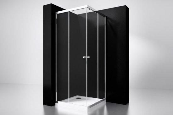 "Best-design ""project"" douche hoekinstap 100x100x190cm glas 5mm"