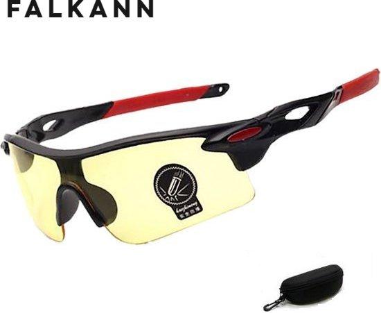 d7e8a596f686e0 Fietsbril - Sportbril - Zonnebril - Snelle Planga - Zwart Rood