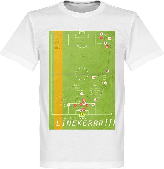 Pennarello Gary Lineker 1986 Classic Goal T-Shirt - L