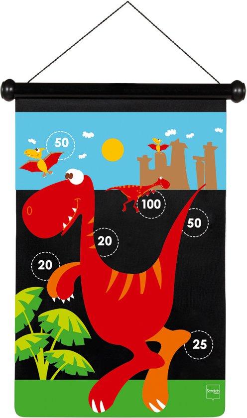 Afbeelding van het spel TWEEZIJDIG MAGNETISCH DARTSPEL DINOSAURUS