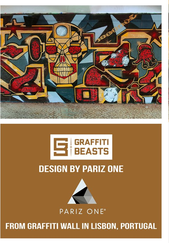 One Pariz Graffitibeasts Sportbeha One Graffitibeasts Pariz CtrhQsxd